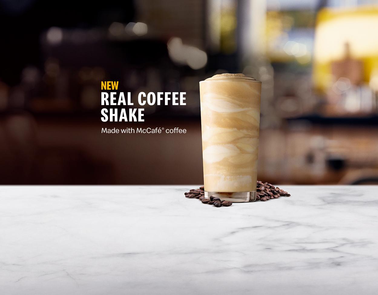 Real Coffee Shake