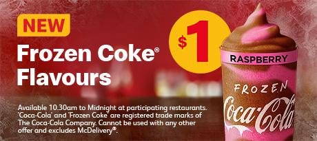 Frozen Coke Flavours