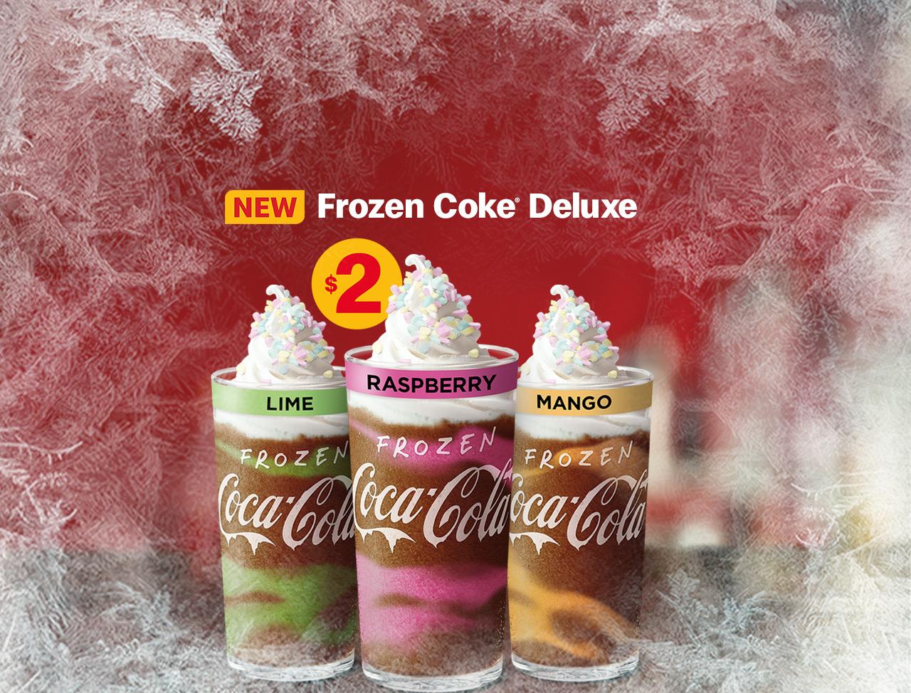 Frozen Coke Deluxe Flavours