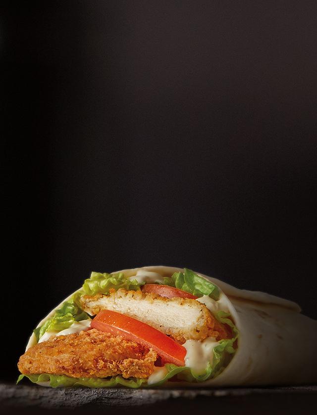 Chicken Aioli McWrap