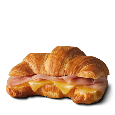 Croissant with Ham & Cheese