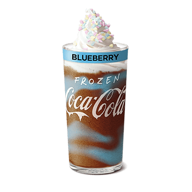 Frozen Coke Blueberry Deluxe