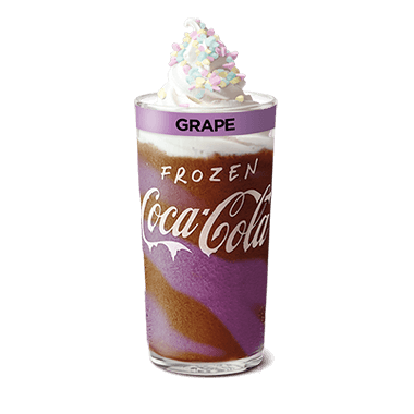 Frozen Coke Grape Deluxe