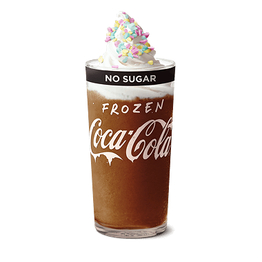 Frozen Coke No Sugar Deluxe