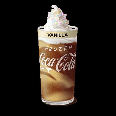 Frozen Coke® Vanilla Deluxe