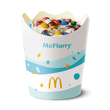 Mini M&M McFlurry