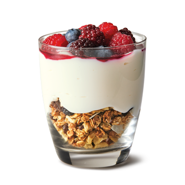 Yoghurt and Muesli with Berries