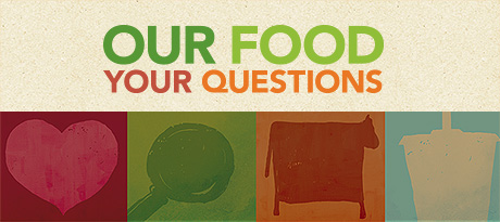 Our Food, Your Questions