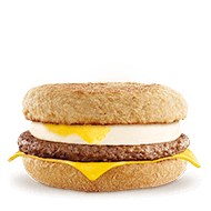 Sausage & Egg McMuffin Wholemeal