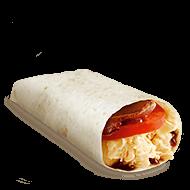 Bacon, Egg and Tomato Wrap