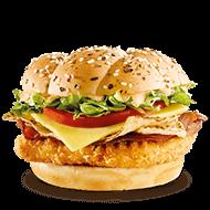 Southwest BLT burger