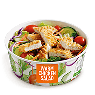 Crispy Warm Chicken Salad