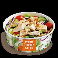 Grilled Warm Chicken Salad