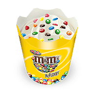 M&M'S MINIS® McFlurry