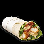 crispy chicken caesar mcwrap