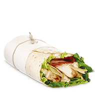 grilled chicken caesar mcwrap